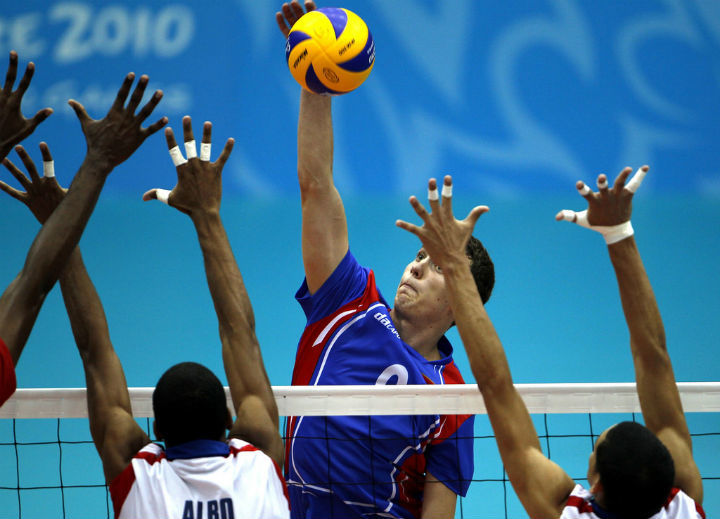 volleyball spike - by singapore2010 on Flickr