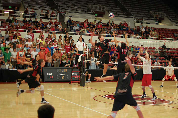 mens volleyball game