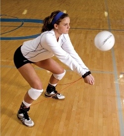 Passrite volleyball training system