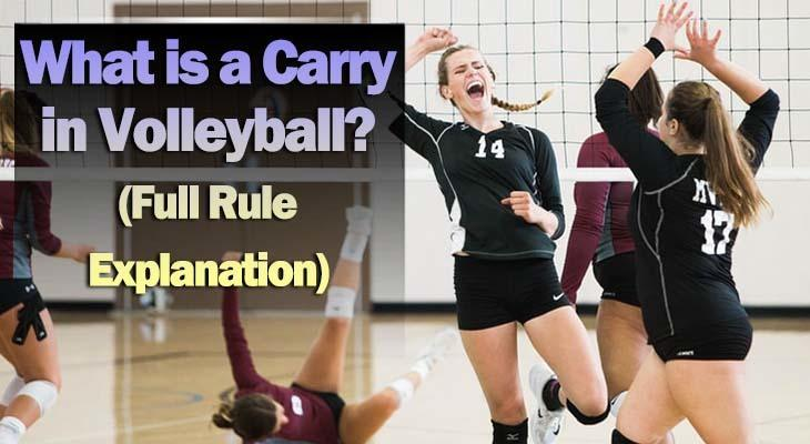 carry in volleyball